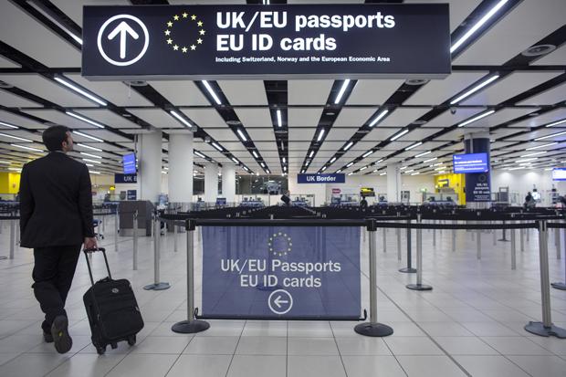 Novas regras imigratórias para cidadãos europeus no Reino Unido